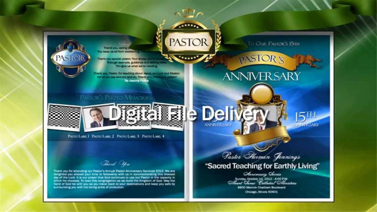 Best S Of Pastor Installation Program Cover Pastor
