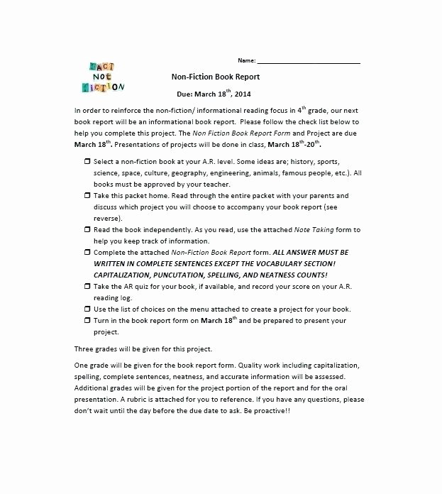 Best S Summary Templates for Elementary Book 8th