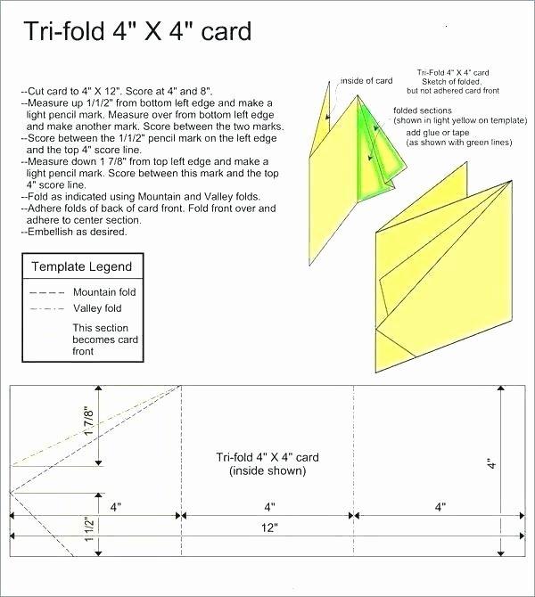 Bi Fold Card Template Free Three Image by Heady A