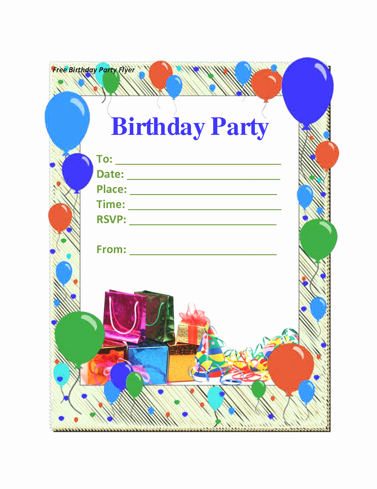 Birthday Invitations Templates Word Mughals