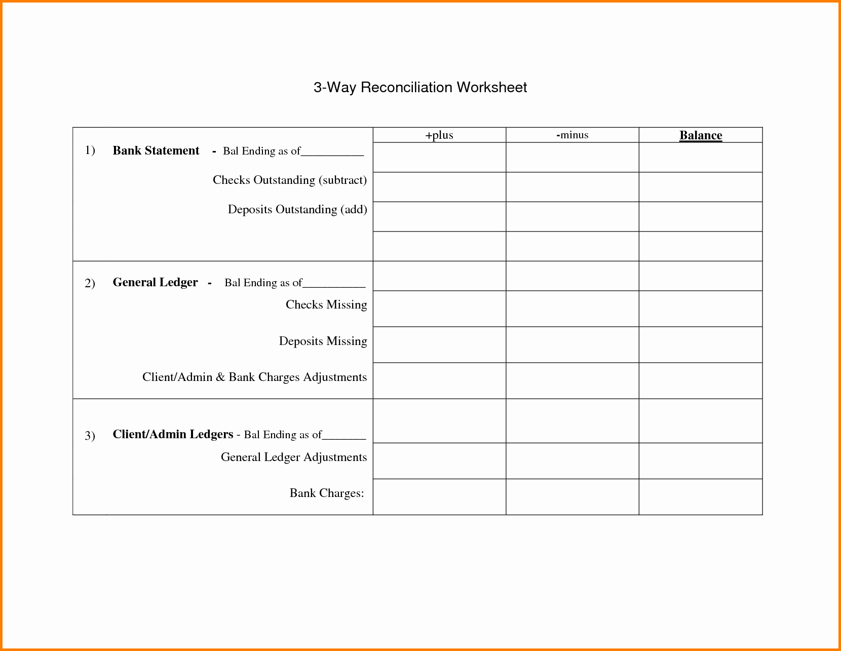 Blank Bank Statement Template Mughals