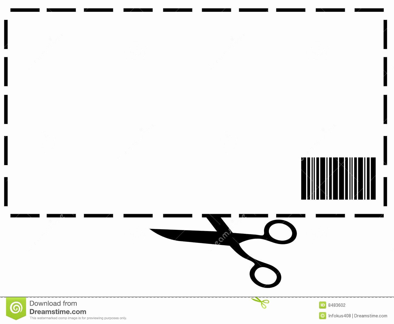 Blank Coupon Clipart Clipart Suggest
