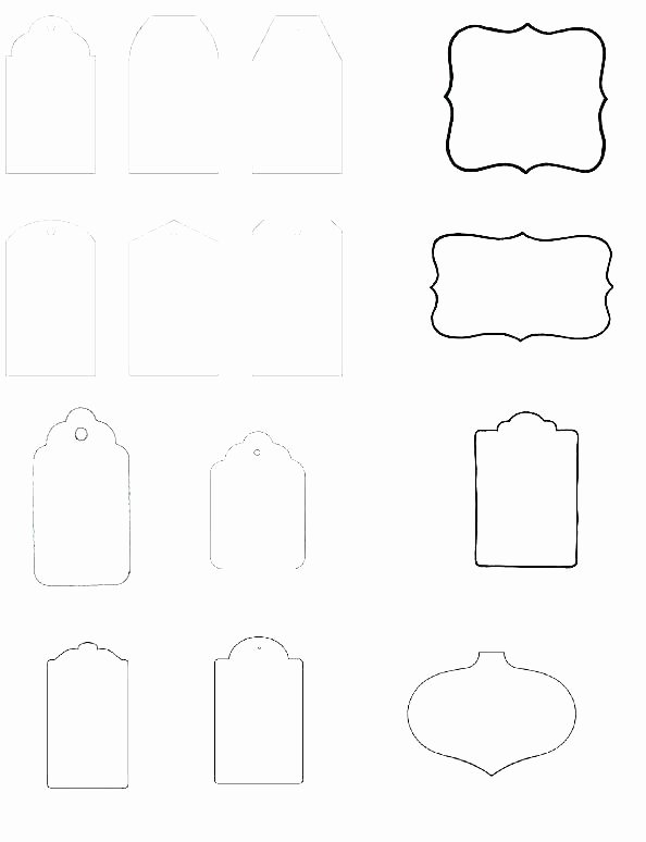 Blank Gift Tag Template Easy Writing Blank Gift Tag