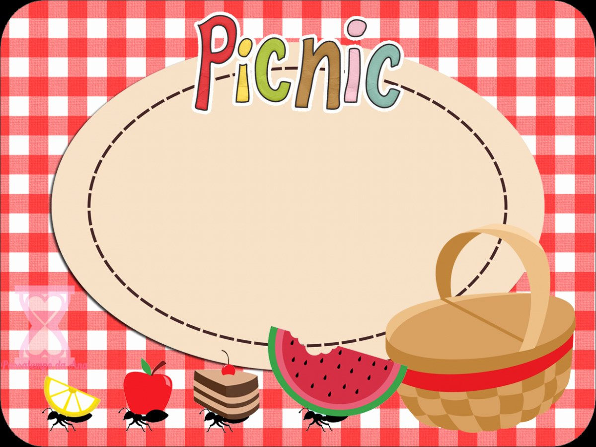 Blank Picnic Invitation Template Templates Resume