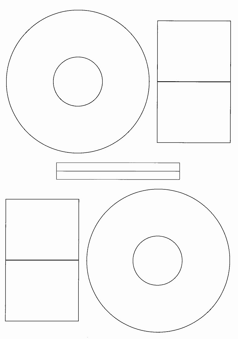 Blank Templates for Microsoft Word Cd Stomper Avery Ml