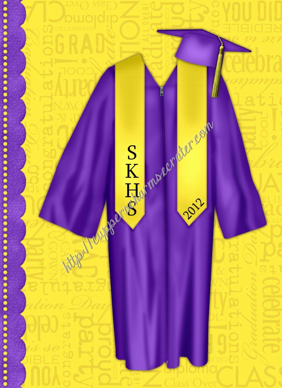 "Brag Book 5"" X 7"" Size Yellow & Purple Senior Brag Book"