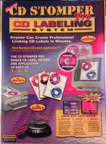 Cd Stomper Pro Cd Labeling System Electronics Print Copy