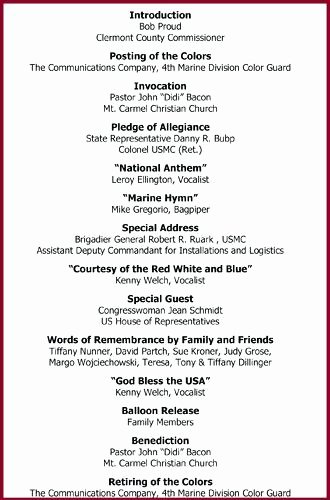 Celebrating the Life Funeral Program Template Celebration