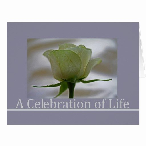 Celebration Life Announcement Wording to Pin