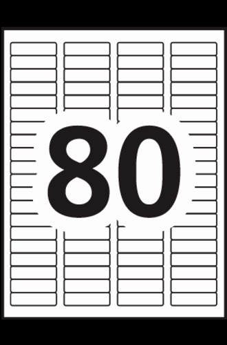 Christmas Return Address Labels Template Avery 8167