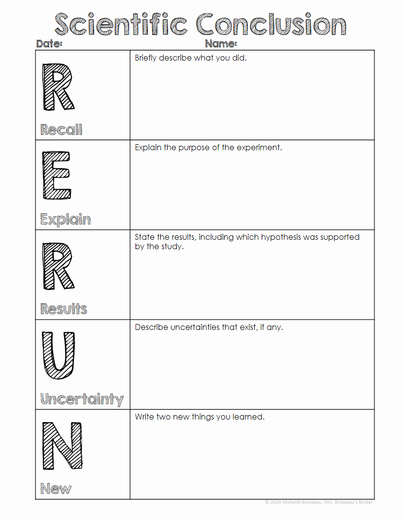 Classroom Freebies too Rerun Conclusion Writing Template