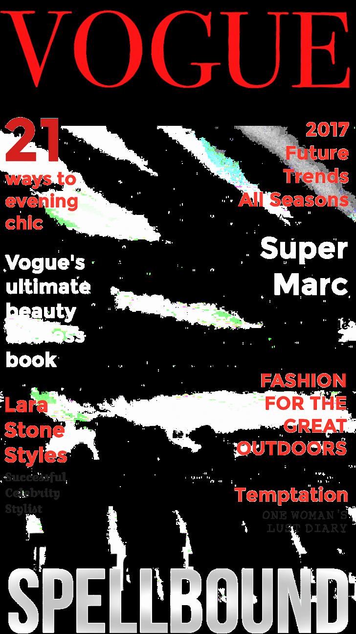 Cover Magazine Cover Template