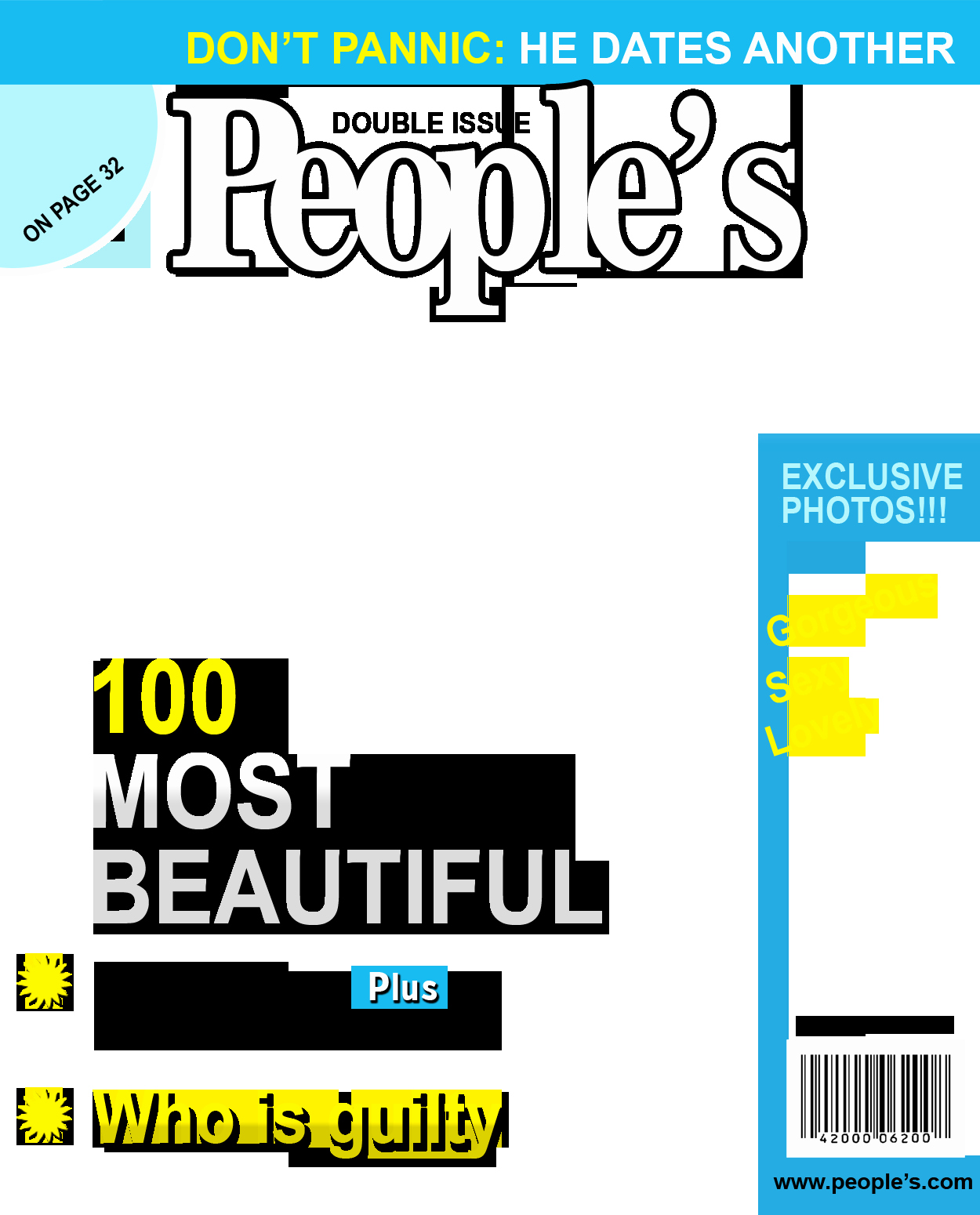 Create Your Own People Magazine Template Bing Images