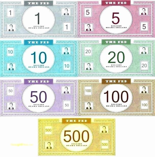 Custom Fake Money Template – Picks