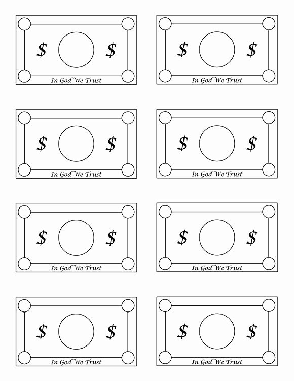 photo regarding Play Money Template identified as Customizable Wrong Cash Template Printable Enjoy Income for