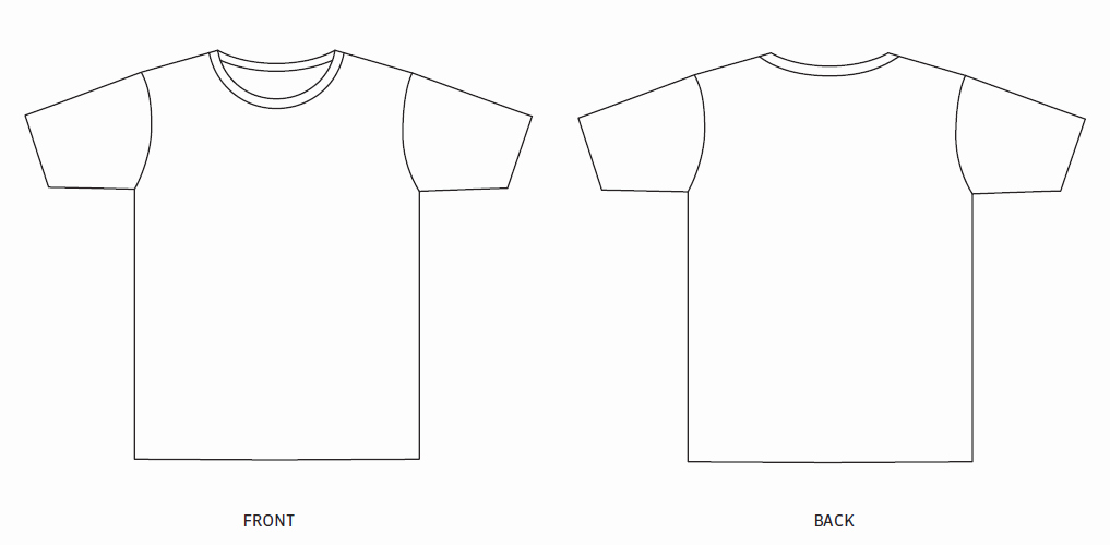 Design Template Sustainable Uni T Shirt