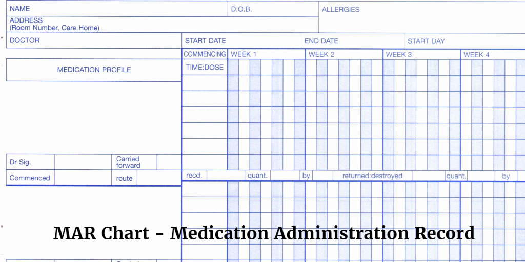 Download Blank Medication Administration Record Template