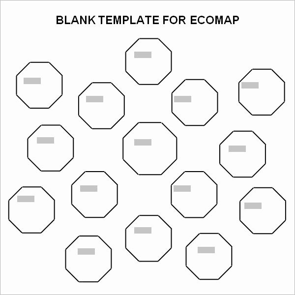 Ecomap Template for Word