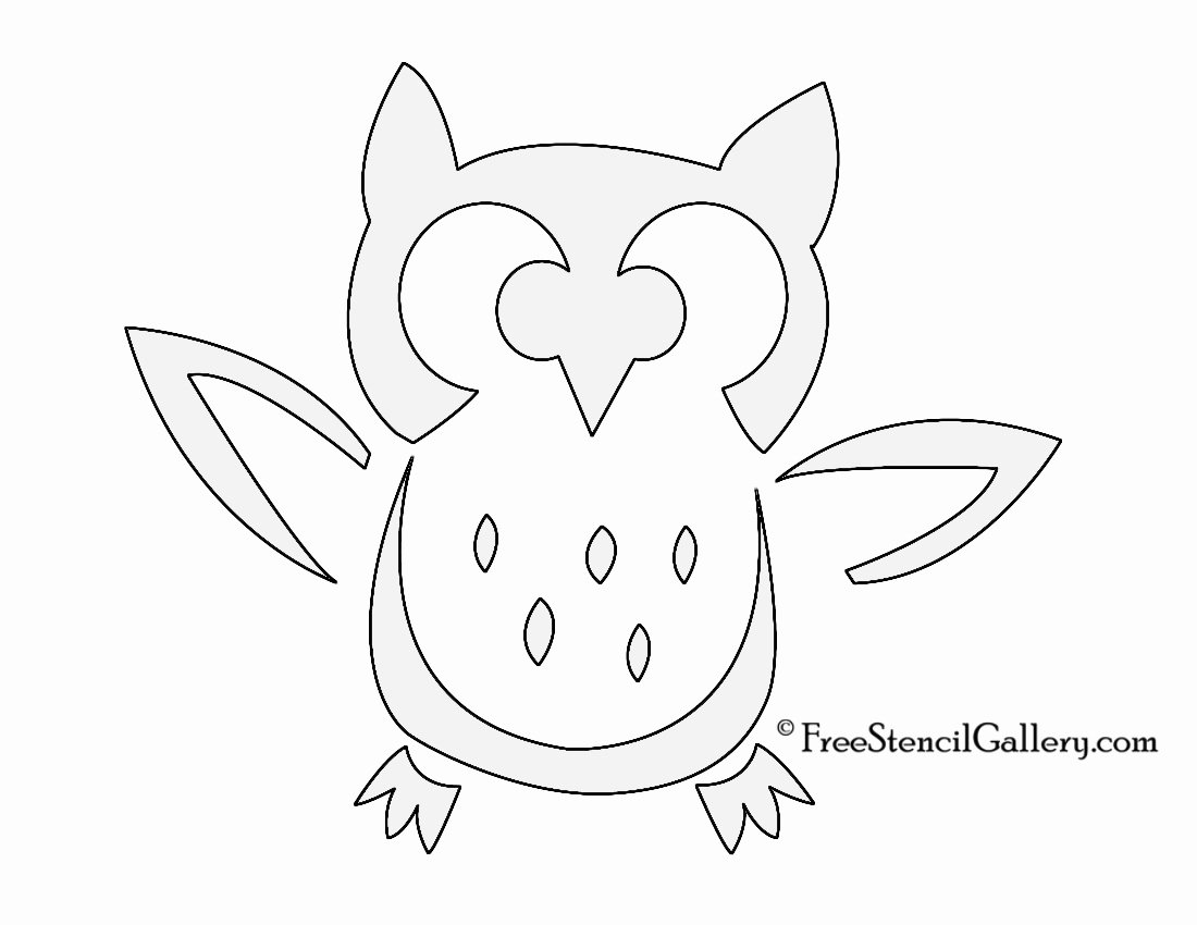 $easy and Cute Owl Pumpkin Carving Templates Ideas 2017