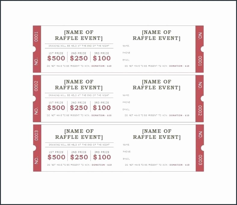 Event Ticket Template Ticket Label Template Avery Raffle