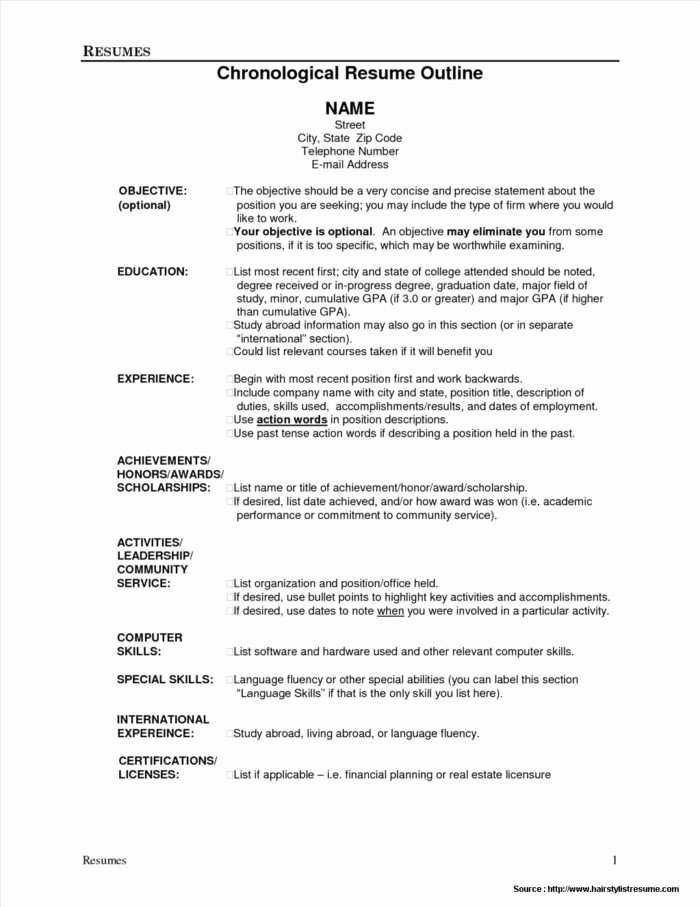 Example Sermon Outline Template Templates Resume