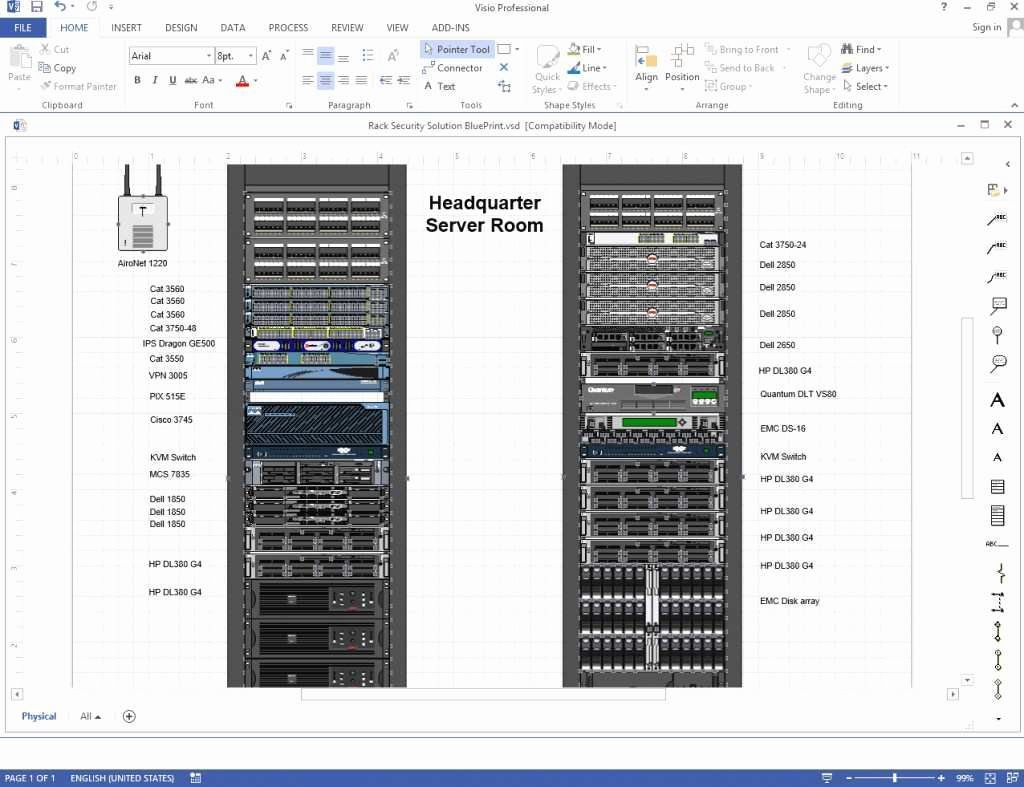 Excel Server Rack Template Victoriajacksonshow