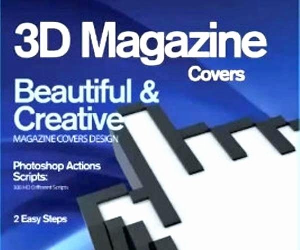 Fake Magazine Cover Template Photoshop