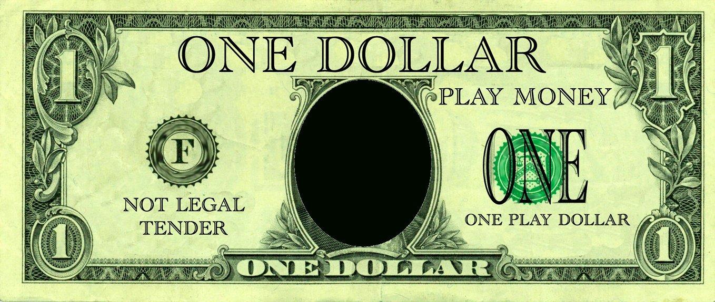 Fake Money Templates Invitation Template