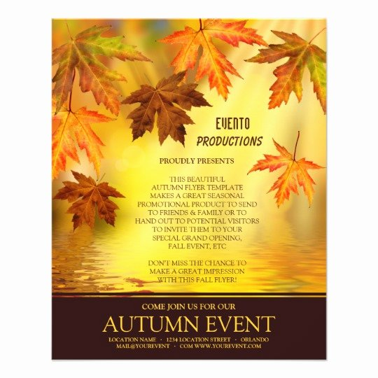 Fall Festival Thanksgiving Flyer Template