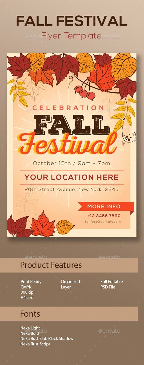 Festivals Flyer Template and Design On Pinterest