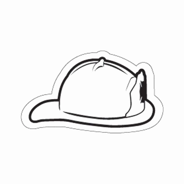 Firefighter Hat Coloring Page Az Pages Sketch Coloring Page