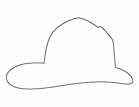 Firefighter Hat Coloring Page – Benneedhamfo