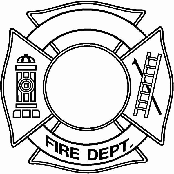 Firefighter Hat Template