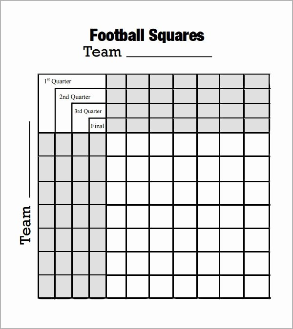 Football Boxes Template Invitation Template