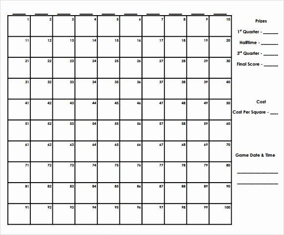 Football Pool Template 21 Free Word Excel Pdf