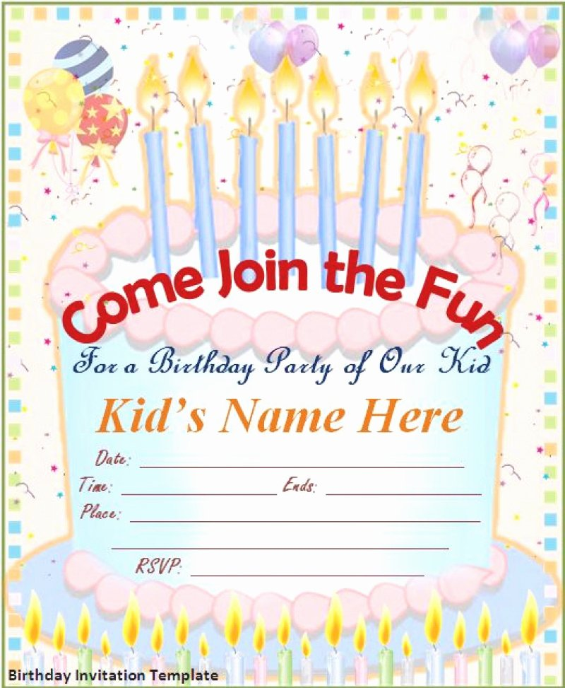 Free Birthday Card Invitation – orderecigsjuicefo