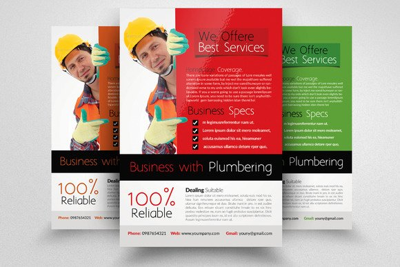 Free Handyman Flyer Designs Designtube Creative Design