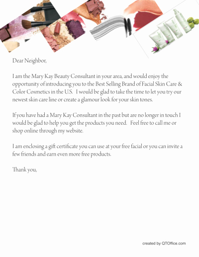 Free Printable Mary Kay Fliers