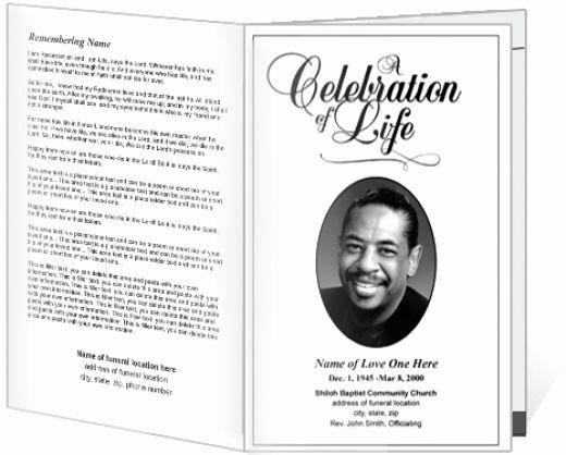Free Printable Memorial Service Programs