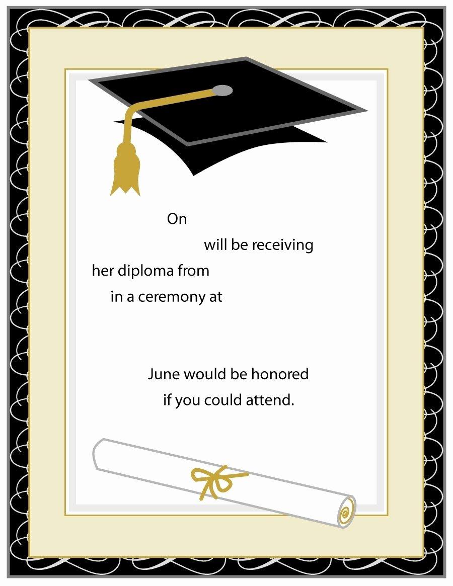 Graduation Invitation Templates Beepmunk