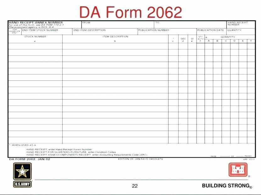 Hand Receipt 2062 – Arbitra Radingbondub