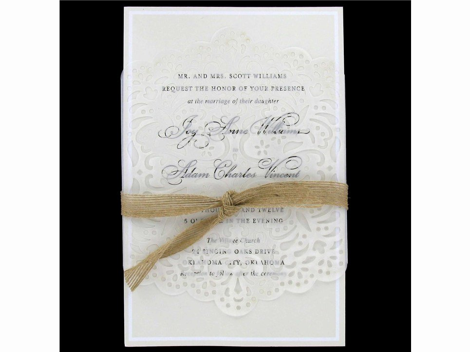 Hobby Lobby Wedding Invitations Template