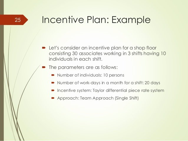 How to Design A Universal Incentive System for A