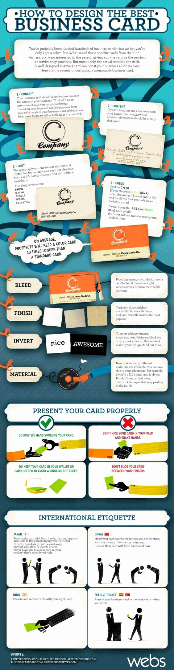 How to Design the Best Business Card Another Tip Use