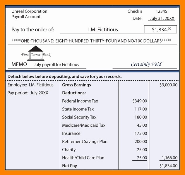 Independent Contractor Pay Stub Template