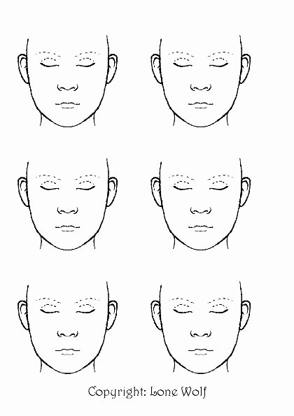 Looking for the Printable Blank Faces