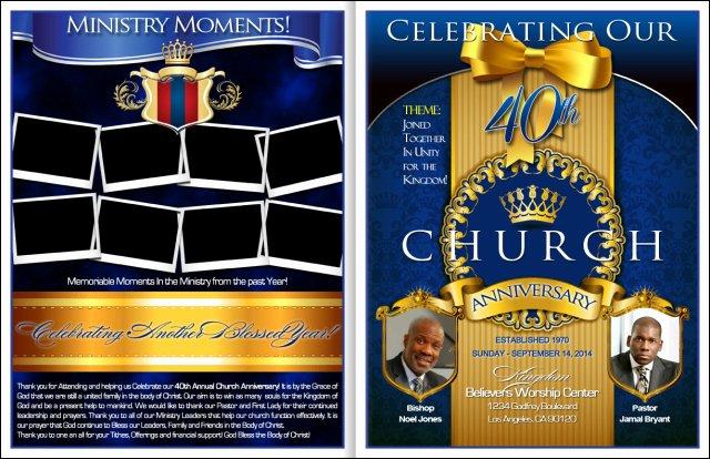 Loyalty Church Anniversary Program