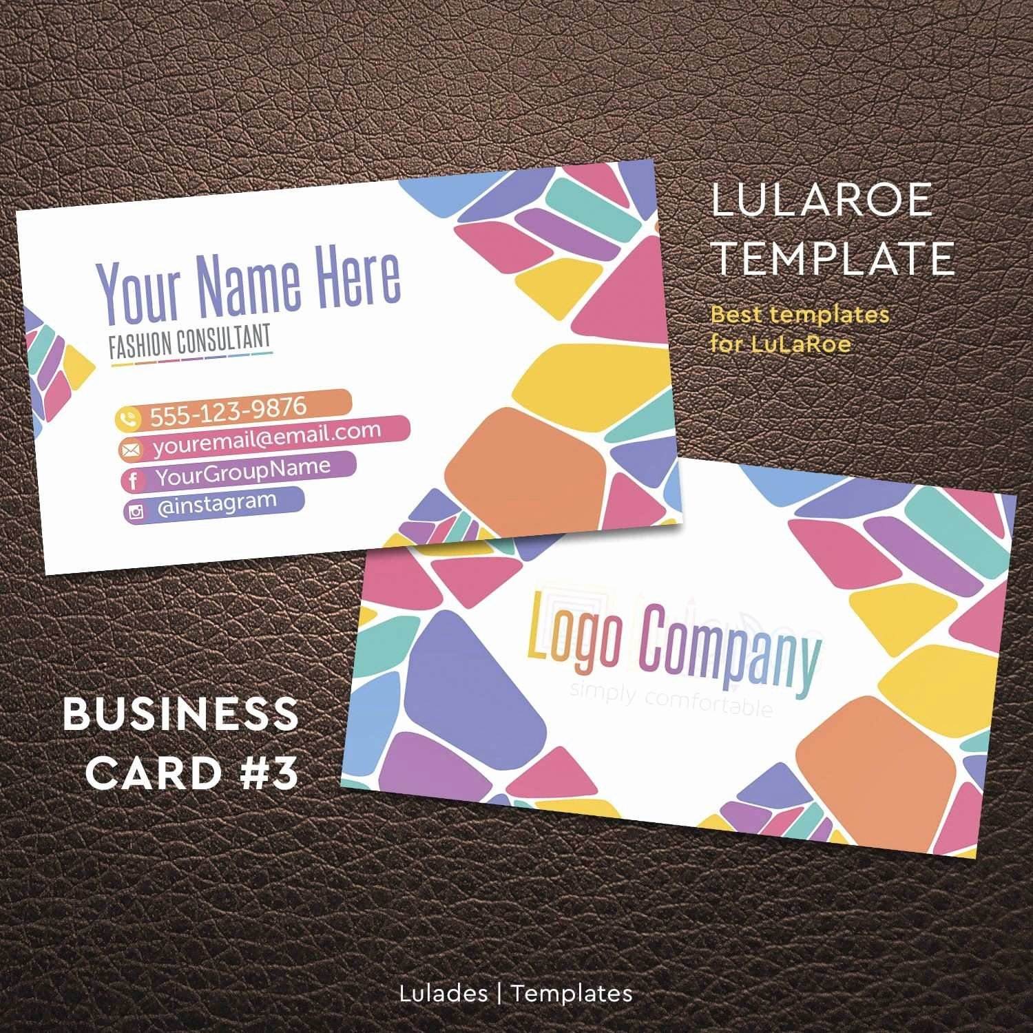 Lularoe Business Cards Vistaprint Elegant Paparazzi