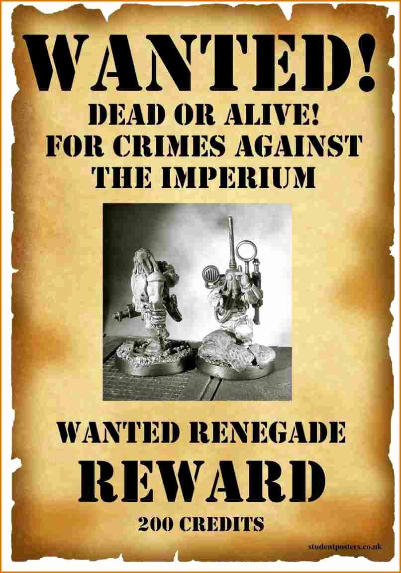Make Your Own Wanted Poster Free