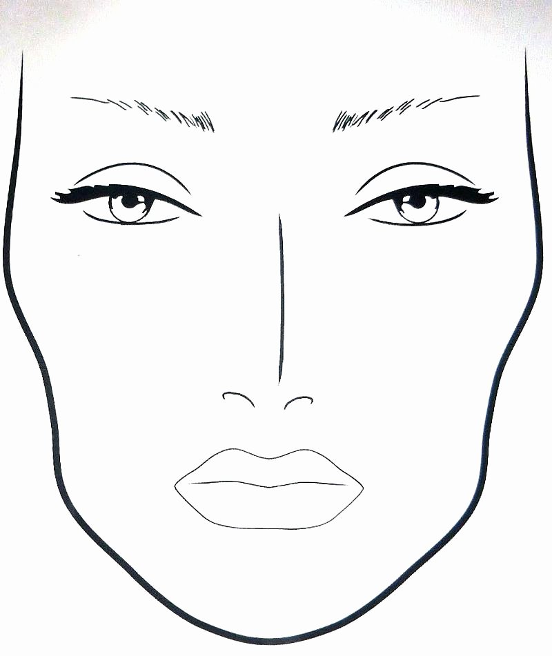 Makeup Coloring Sheets Makeup Coloring Pages This is